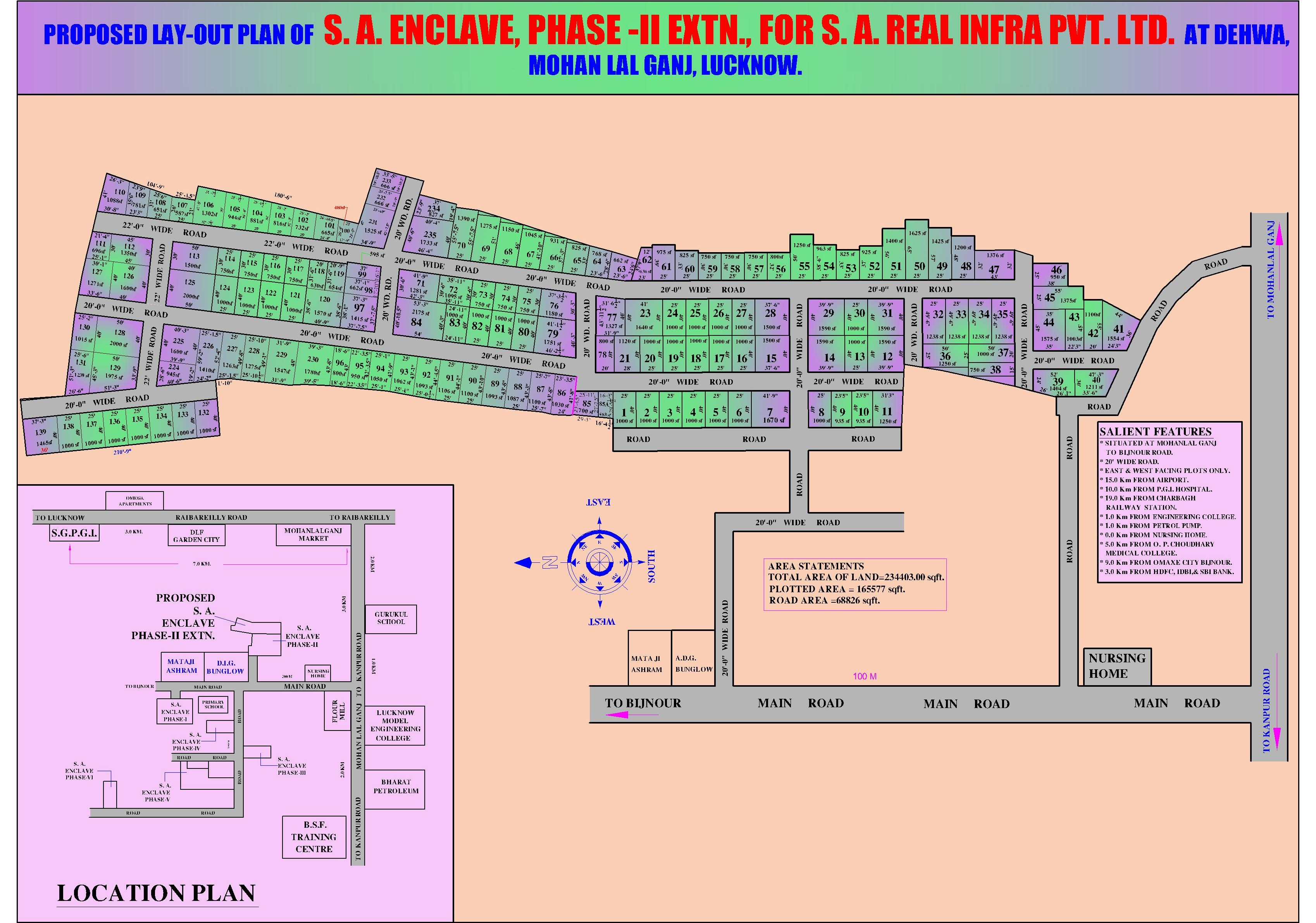 S.A. ENCLAVE ( PHASE 2 EXTN )